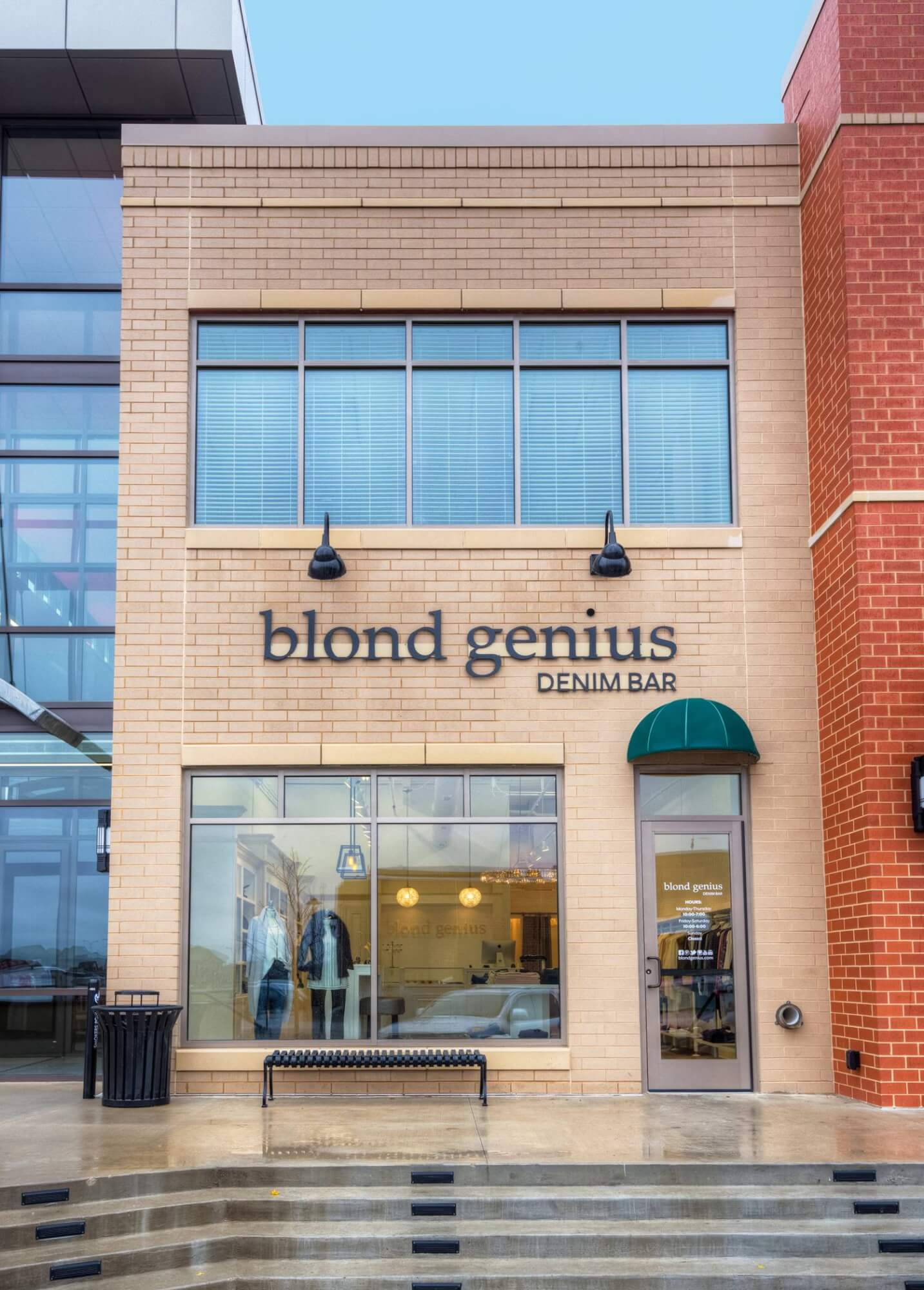 blond genius denim bar