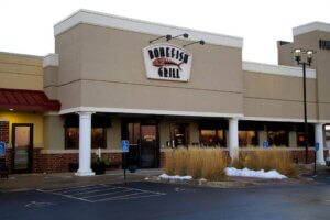 exterior photo of Bonefish Grill entrance
